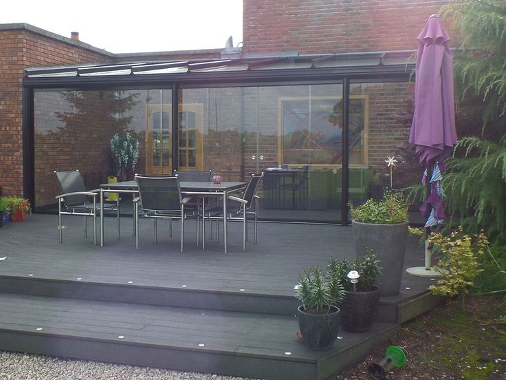Majority glass construction glass room, built to fit into corner to give a cozy feel - Build completed by OpenSpace Living