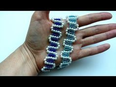 Beaded bracelet tutorial . Easy pattern for beginners