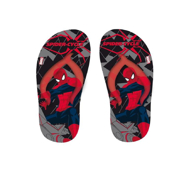 Chinelo Flip Flop Preto Spiderman AN15011_2