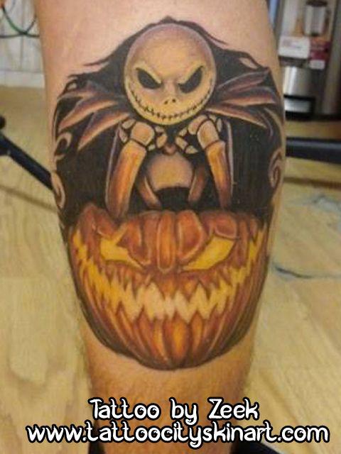 17 best images about zeek tattoos on pinterest for Jack the pumpkin king tattoo