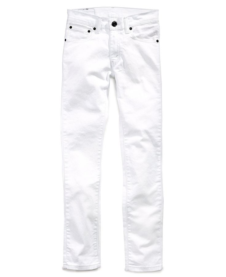 White Skinny Jeans For Kids