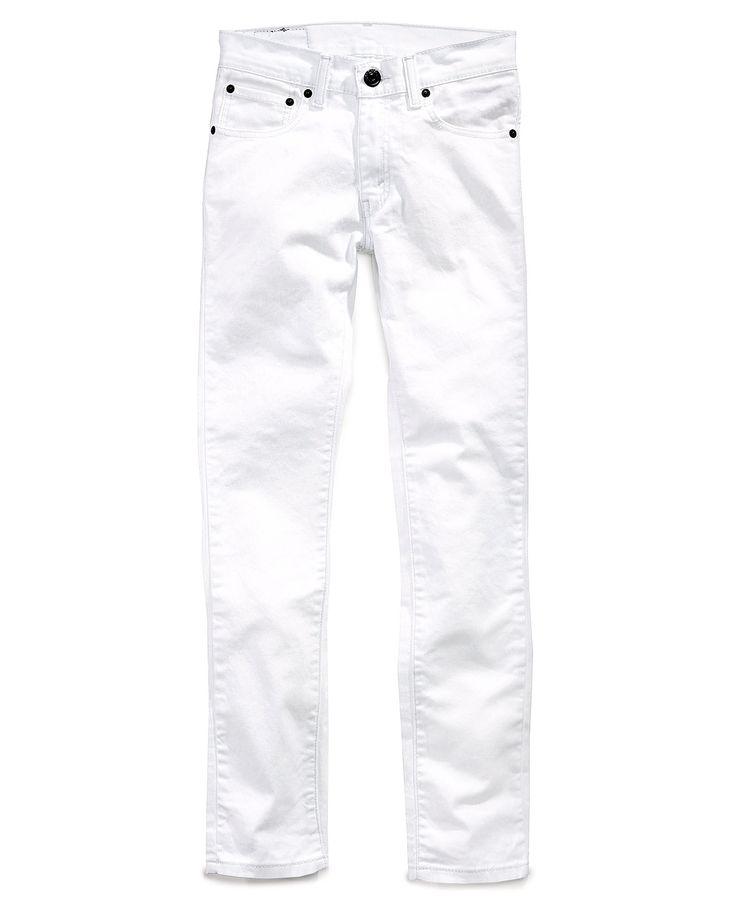 White Skinny Jeans For Kids