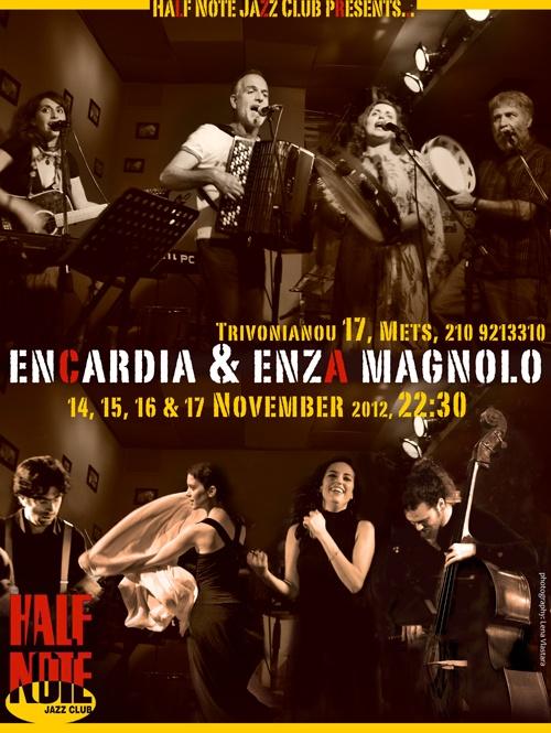 encardia & enza magnolo at Half Note
