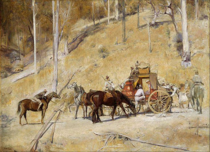 Artworks about bushrangers