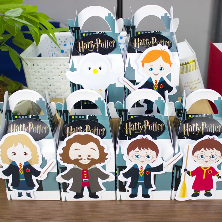 Harry Potter  Favor Box Candy Box Gift Box Cupcake Box Boy Kids Birthday Party Supplies Decoration Event Party Supplies-in Event & Party Supplies from Home, Kitchen & Garden on Aliexpress.com | Alibaba Group