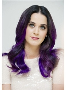 Katy Perry Hairstyle Purple
