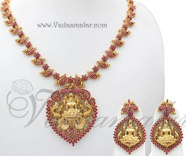 17 best images about ruby stone jewellery sets on