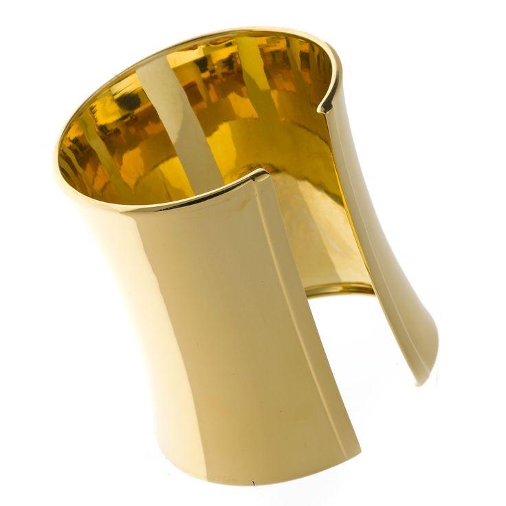Brazaletes con cuidados baños en oro y oro rosa y rodio. Ver más coleccion en www.salvatore.es