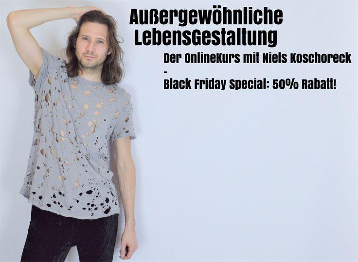 """#BlackFriday-Special: """"Außergewöhnliche LebensGestaltung - Der OnlineKurs""""! NUR HEUTE 50% günstiger erhältlich -  jetzt kaufen: http://akademiederbefreiung.de/aussergewoehnlichelebensgestaltung/"""