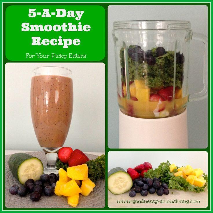 5 a day smoothie recipe goodness gracious living