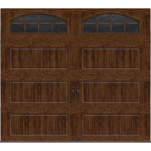 17 best ideas about menards garage door opener ideal door® 9 ft x 8 ft walnut long panel insulated garage door