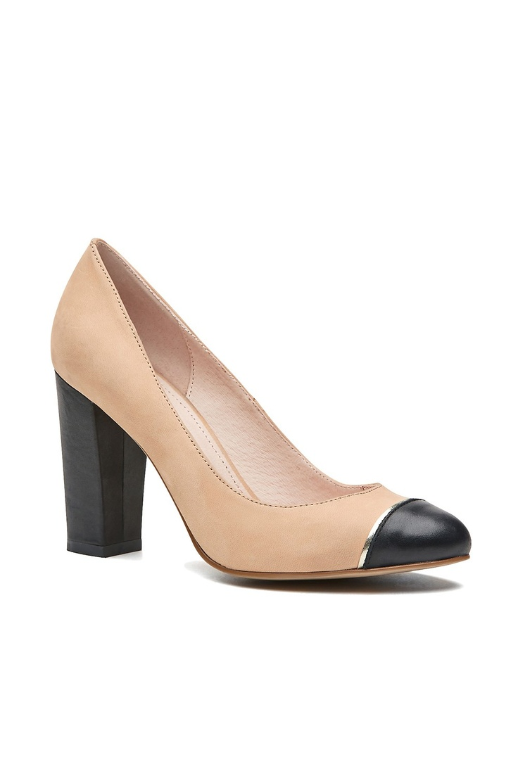 Black Mary Janes Shoe With Brown Bottom