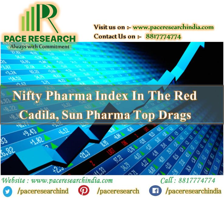 The #Nifty #Pharma index was #trading 0.16 per cent down at 9,527. #Benchmark #NSE #Nifty50 index was #up 44 points at 10,229, while the #BSE #Sensex was up 129 points at 32,636.  #For More #Information Please #Visit : www.paceresearchindia.com and #Call : 8817774774