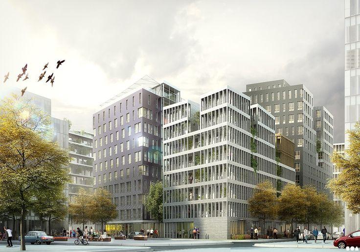 SOA Architects Paris > Projects > ZAC DES GIRONDINS - ÎLOT PRE GAUDRY