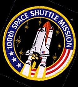 space mission patches | 100th Space Shuttle Mission Patch