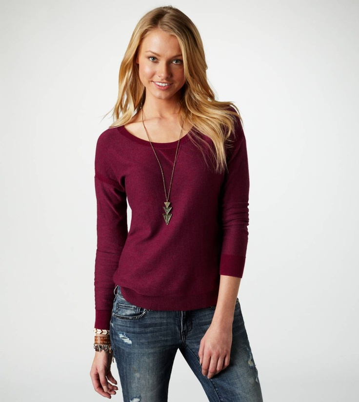 Cranberry Sweater from America Eagle