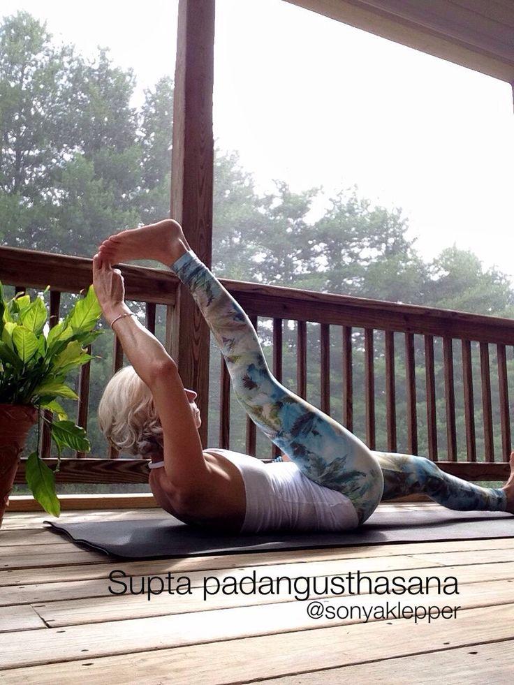 Ashtanga yoga prep for splits. Yoga tip as you draw the