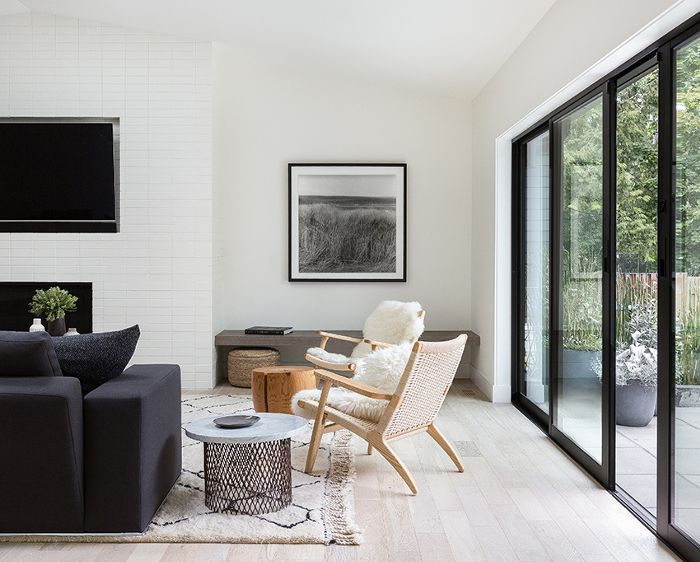 Tour A Modern Scandinavian Remodel Boasting Clean Lines And Streamlined Design Living Room Scandinavian Modern Scandinavian Interior Scandinavian Design Living Room