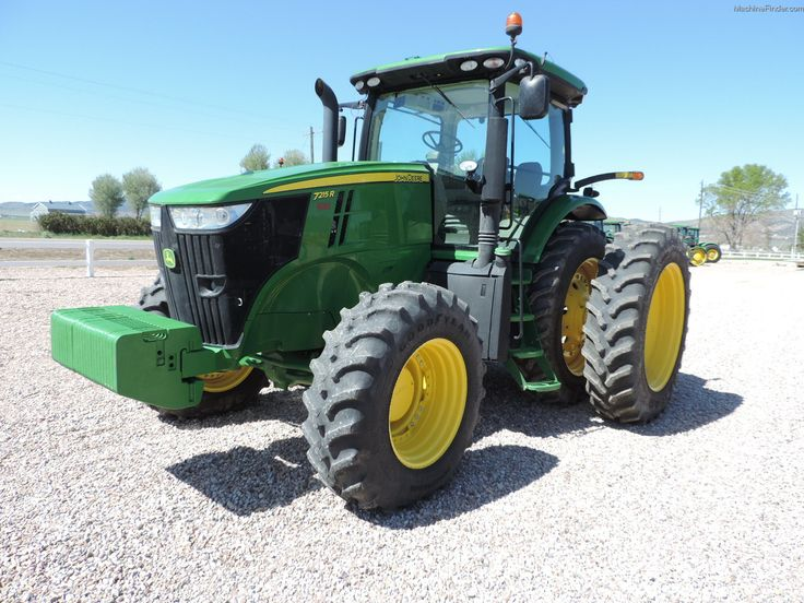 2013 JOHN DEERE 7215R  $154,000 US HOURS: 846 (MAY 11, 2015) 215 HP Cab / MFWD / IVT / Guidance-ready: Yes / Duals / Tire Width: Mid 2013 DEERE 7215R CAB, IVT, 480/80R46 , DUALS Used / On Lot Stotz Equipment - NEPHI, UT 84648 - Used Row Crop Tractors - John Deere