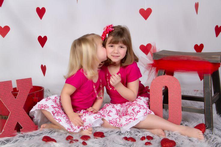 """Kisses XOXO"" Portrait Creations Professional Valentine's Day Portraits in Charlotte, NC."