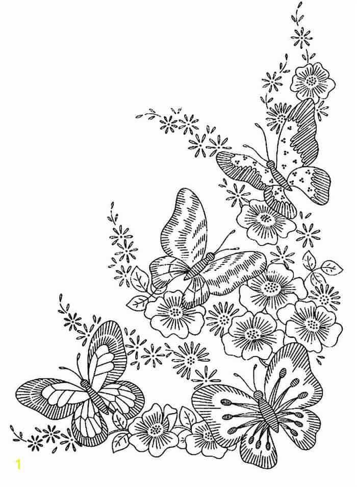 Butterfly Coloring Apges Spring Season Butterfly Coloring Page Flower Coloring Pages Coloring Pages