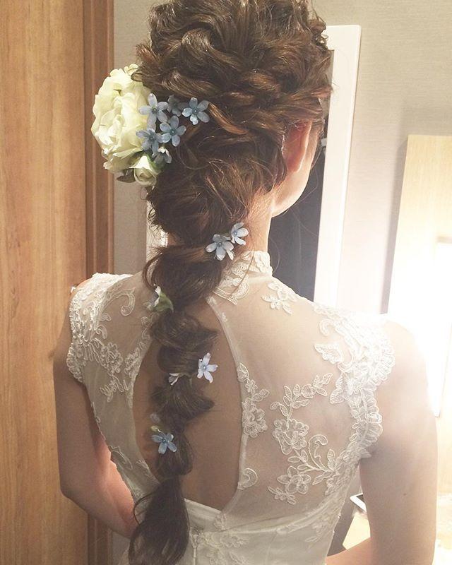【bridalhairmak】 花嫁様ヘアメイク ・ ・…