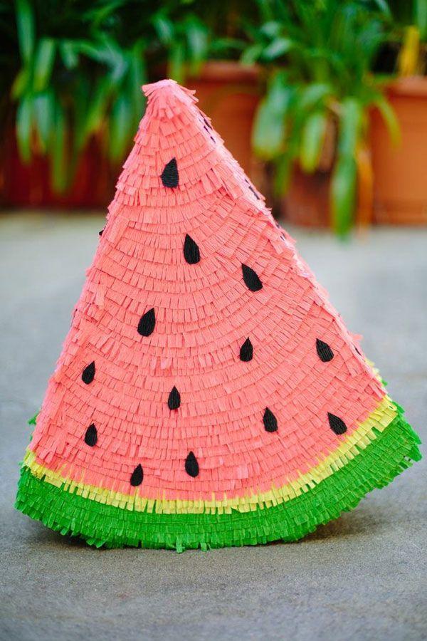 Watermelon Pinata DIY | Oh Happy Day!