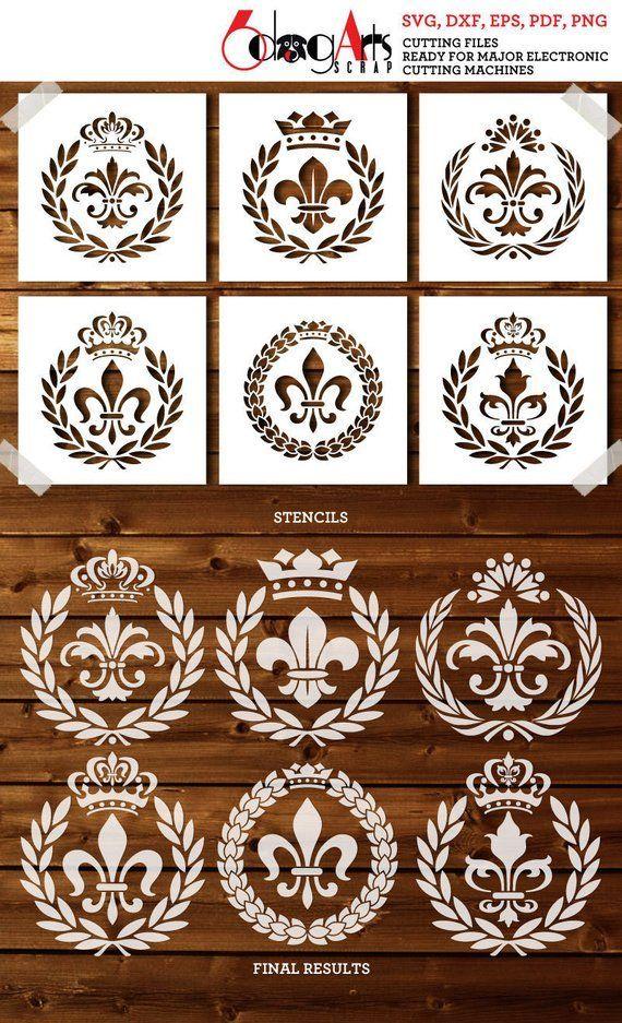17 Wandgestaltung schablonen vorlagen