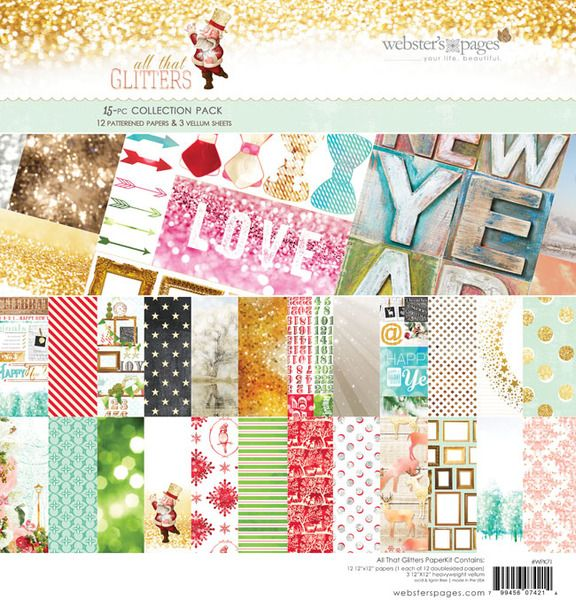 This collection is just GORGEOUS!! Websters Pages > All That Glitters