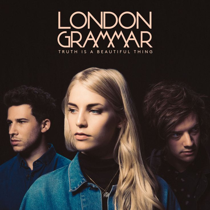 Cover art for British band London Grammar's second studio album Truth Is a Beautiful Thing, released by Ministry of Sound, United Kingdom, 2017, photograph by Mat Maitland.