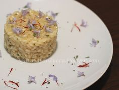 Senza Sale in Zucca: Risotto al rosmarino ed ai suoi fiori