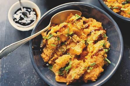 Zoete aardappelpuree - Recept - Allerhande - Albert Heijn