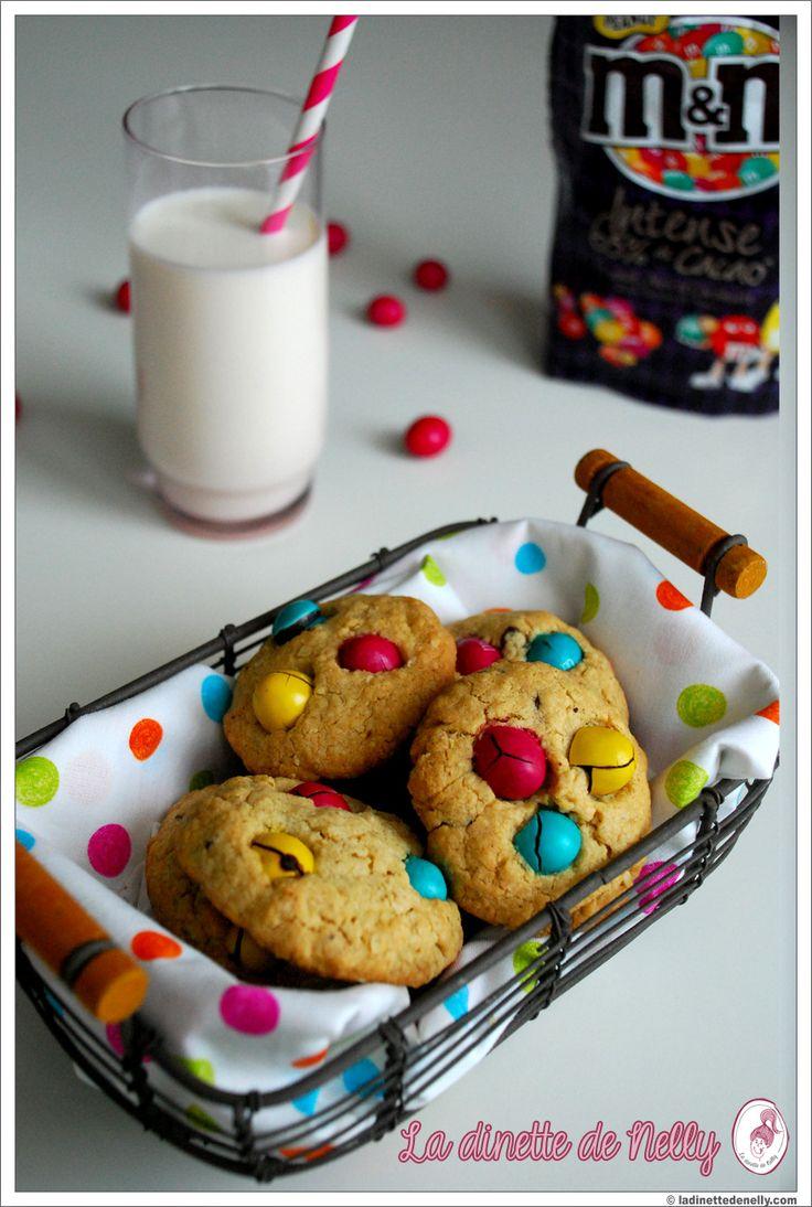 Cookies au M's // La dinette de Nelly