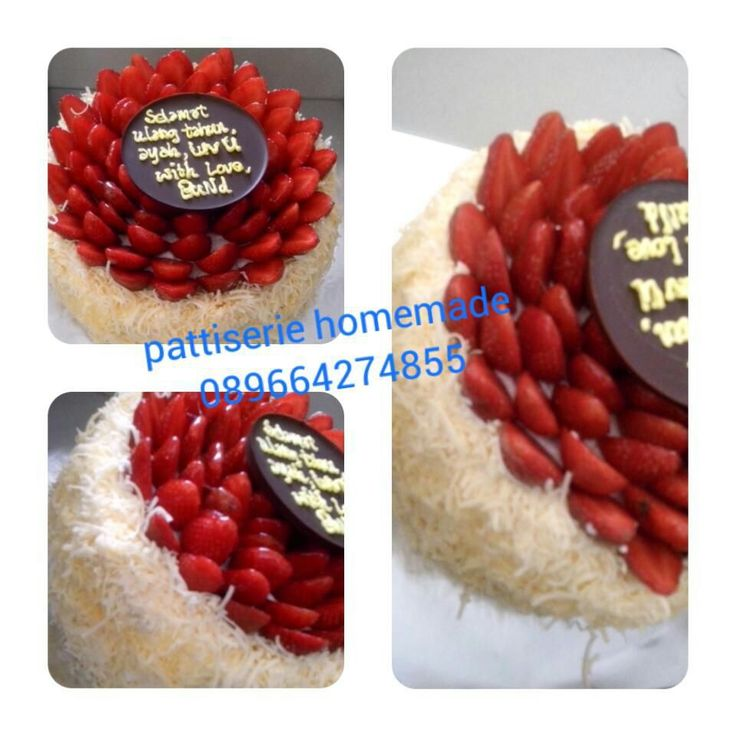 Grated Cheese Cake with Fresh Berries Info Order. 0896 6427 4855