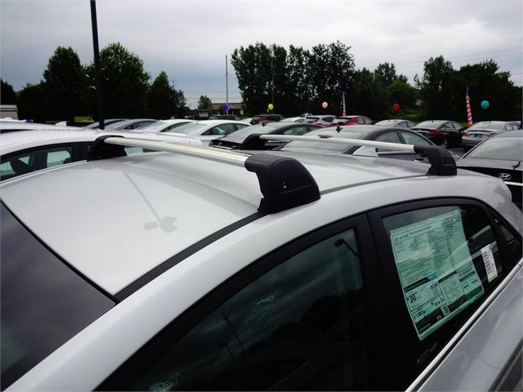 20132017 Hyundai Elantra GT Roof Rack Bars (E045) Roof