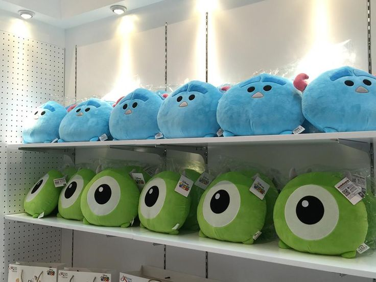Mike and Sulley (Monster Inc.) Tsum Tsum Pillows