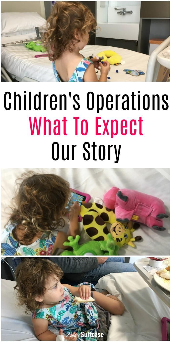 Our child went to hospital for an operation and this is our story about what to expect.