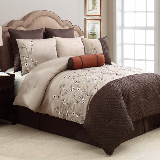 Sadie 8 Piece Chocolate Comforter Set 200 00 Anna S