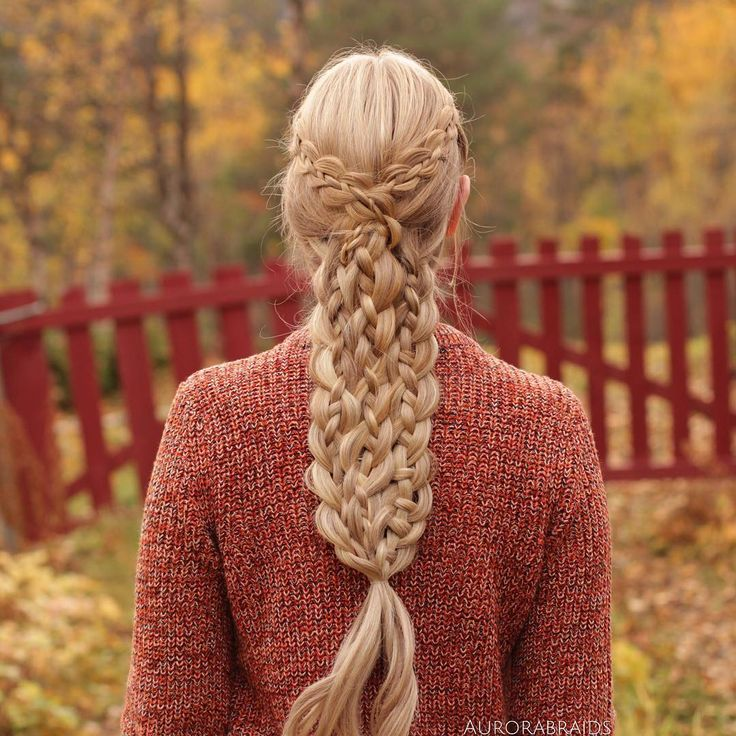 "6,586 Likes, 155 Comments - Mia & Linda (@aurorabraids) on Instagram: ""4 strand braids❤️"""