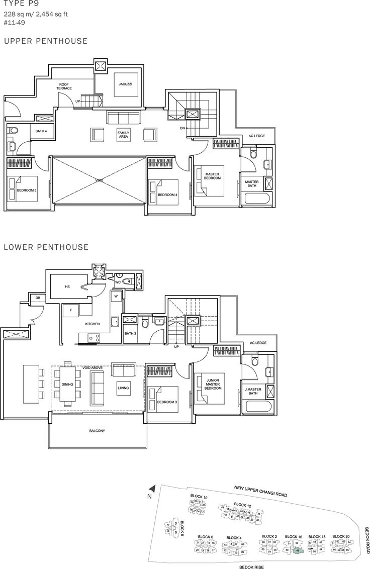 The Glades Condo Floor Plan - 5BR Penthouse - P9 - 228 sqm-2454 sqft.JPG