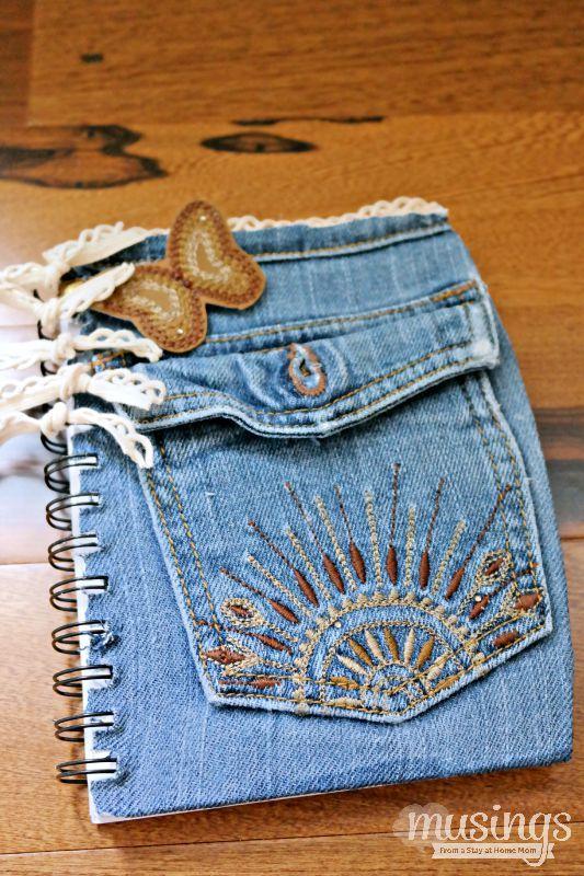 52 façons créatives pour recycler vos vieux jeans