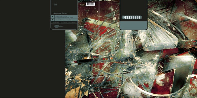 """Images by Marc Atkins. The Breeders. CD and 12"""" vinyl album. Label 4AD. Design by Vaughan Oliver at v23."""