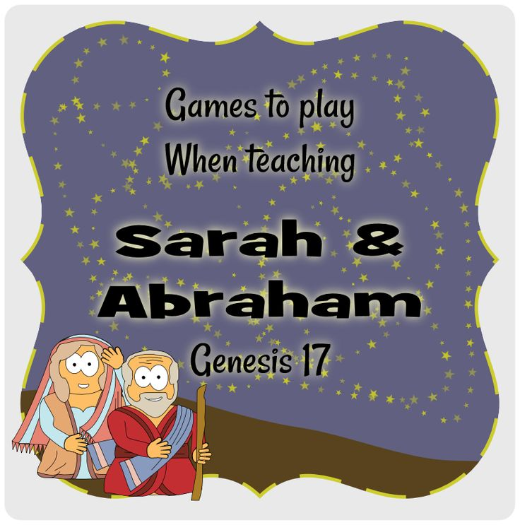 Sarah & Abraham : Genesis 15+17 : #Jesuswithoutlanguage