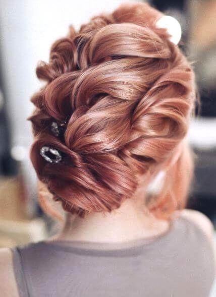 Wedding hair idea - updo