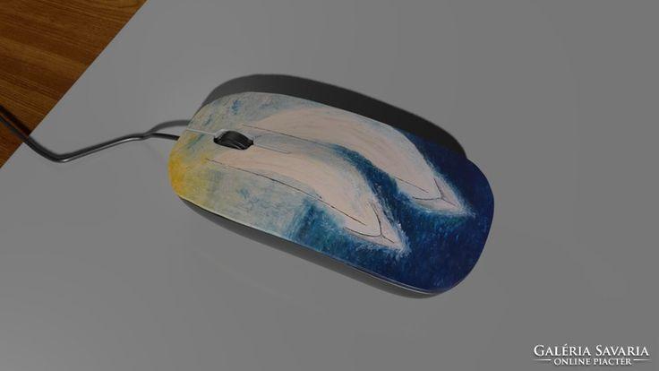 Computer mouse,mice hajós festménnyel számítógépes egér 16.