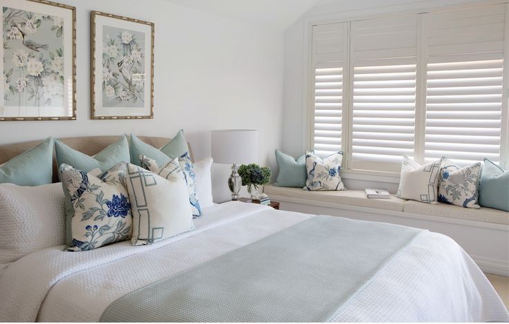 Leilani Ryder | Interior Decorating & Styling | Hamptons Bedroom