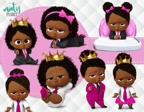 African American Girl Boss Baby Boss Baby Girl Full