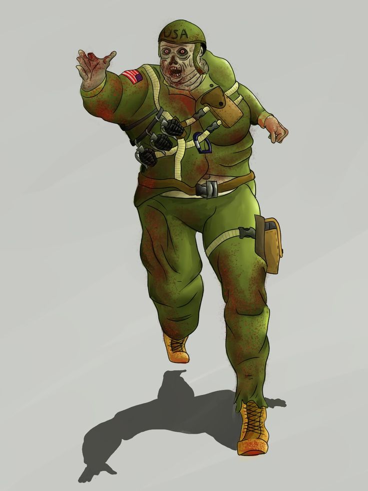 Soldat zombie
