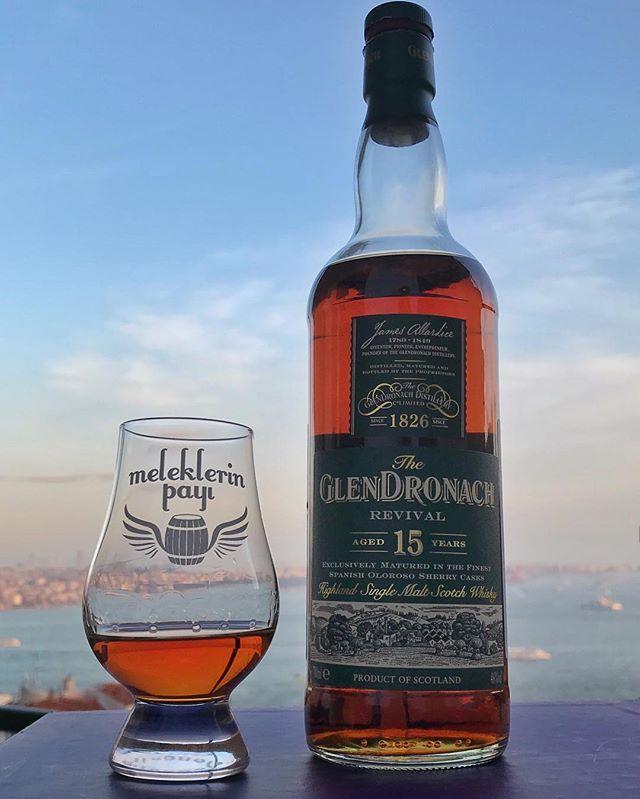Şeri Bombası / Sherry Bomb  @glendronach #istanbul #TGIF #whiskywithaview #bosphorus #boğaziçi