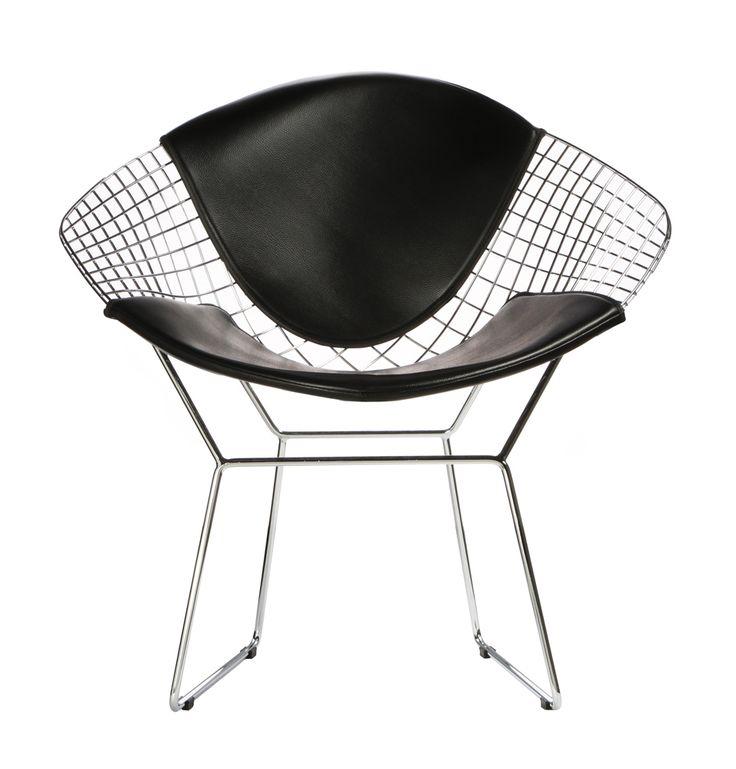 Replica Harry Bertoia Diamond Chair - Standard Version by Harry Bertoia - Matt Blatt
